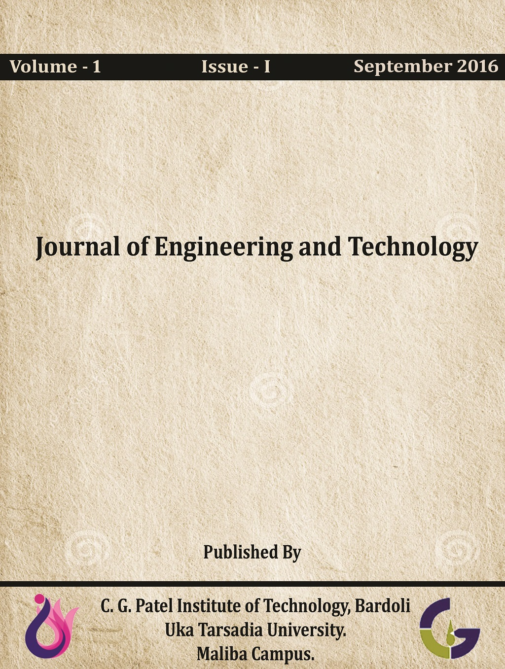 Journal of Engineering & Technology (JET)